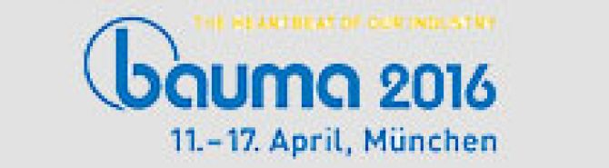 Bauma Fair – Munich (11-17 April 2016)